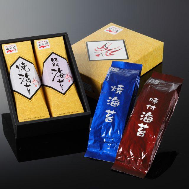 永谷園との共同オリジナル企画 海苔商品3種類 詰め合わせセット(KDシリーズ)